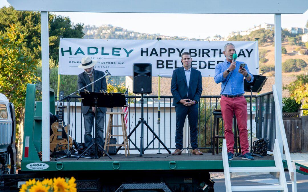 BCF Sponsors Belvedere's 125th Birthday Bash